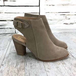 Seychelles Caravan Open Back Booties Sz 9.5